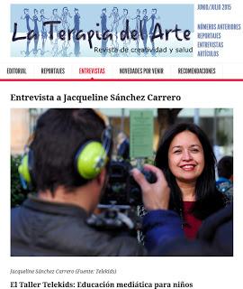 """Revista """"La terapia del arte"""" - Taller Telekids"""