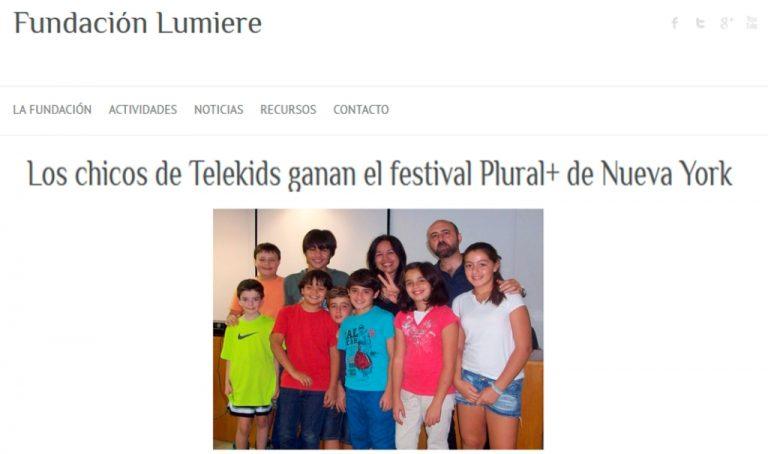 Fundación Lumière - Taller Telekids