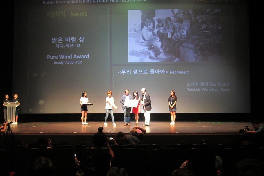 Taller Telekids en Corea del Sur c