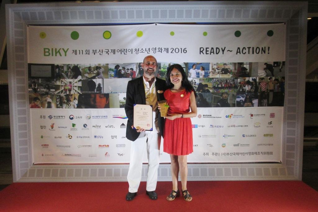 Taller Telekids en Corea del Sur d