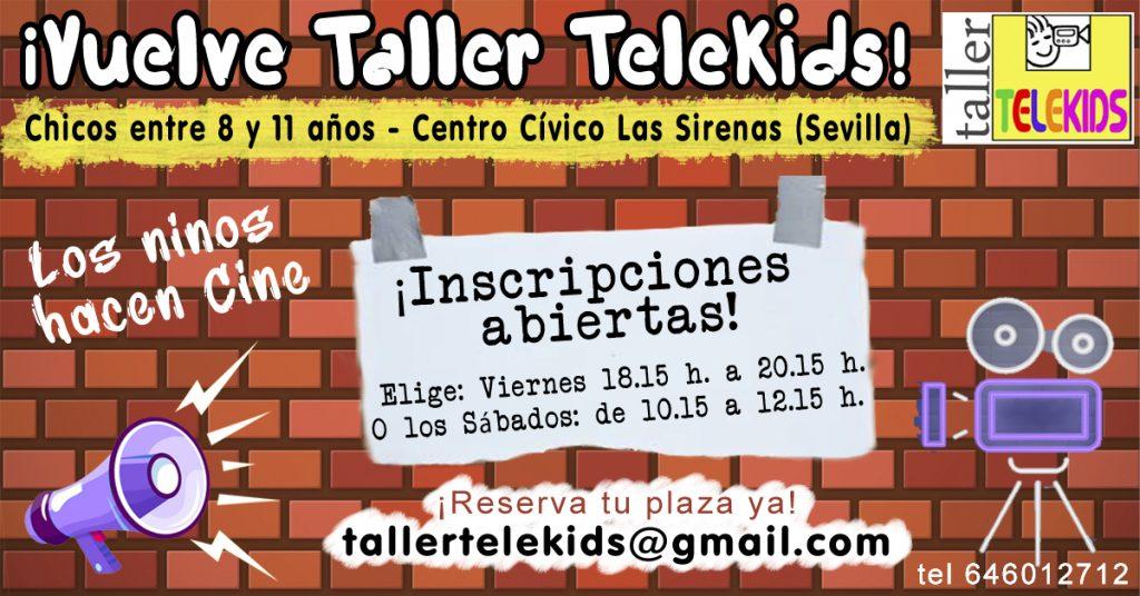 Inscripciones abiertas Taller telekids