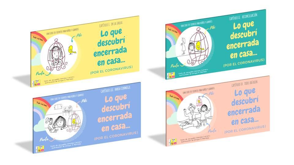 Serie de cuentos infantiles Taller Telekids