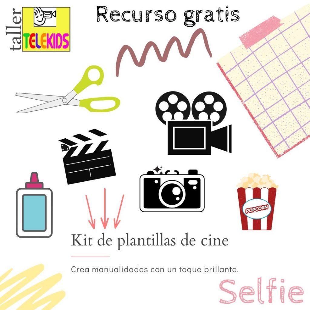 Kit de manualidades de Cine Taller Telekids