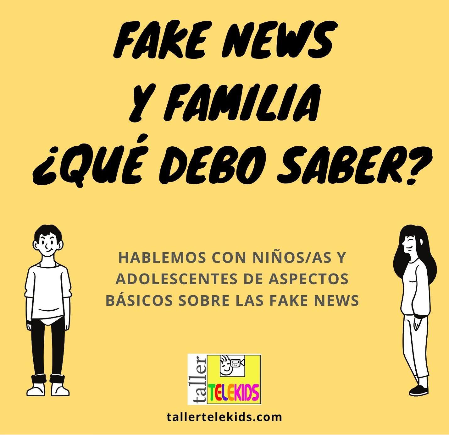 Taller Telekids Flyer Fake News portada pequeña
