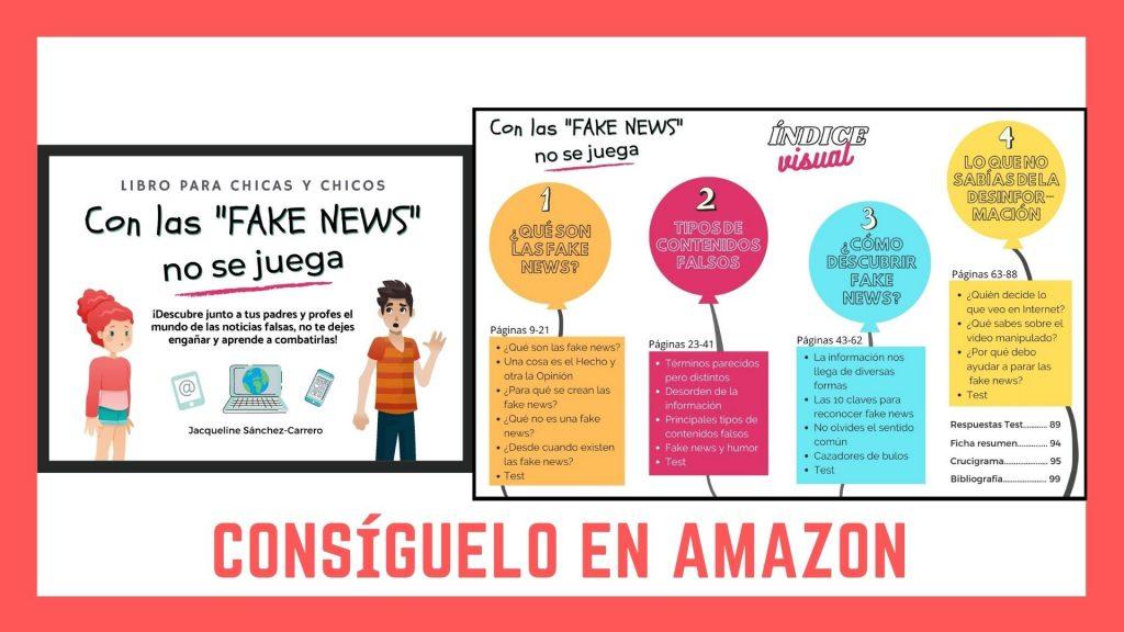 """Libro """"Con las Fake News no se juega"""""""