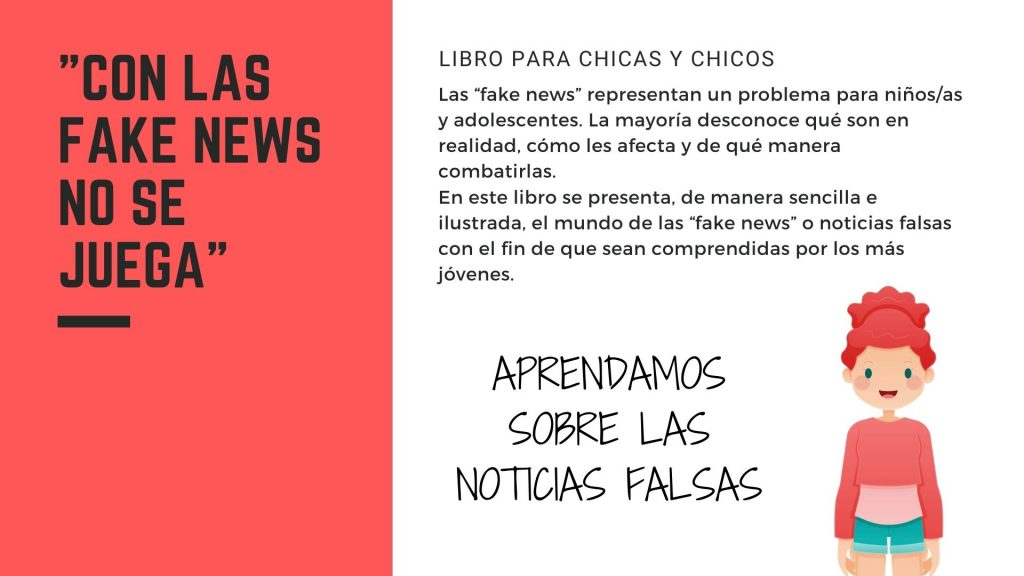 """Libro """"Con las Fake News no se juega"""" 3"""