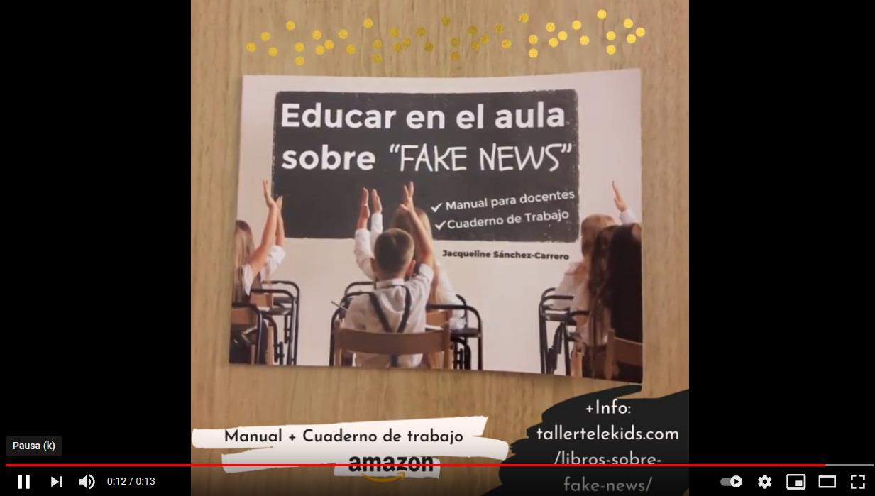 Educar en el aula sobre fake news. Libro.