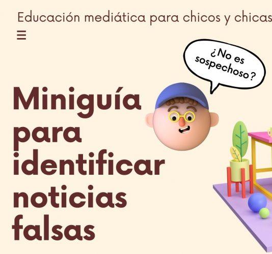 video GUÍA PRIMEROS PASOS SOBRE FAKE NEWS