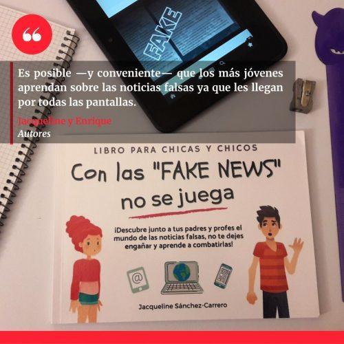 Libro Fake News niños