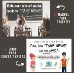 Libros sobre Fake News Taller Telekids
